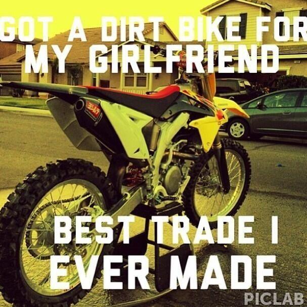 Dirt Bike Pic With Girlfriend Boyfriend Google Search Dirtbike