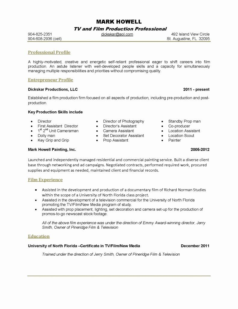 1 Page Resume Template Inspirational E Page Resume Template In 2020 One Page Resume Template Job Resume Template One Page Resume