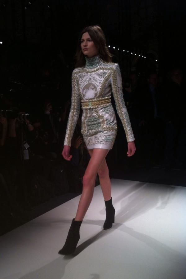 Balmain- Pearl mini dress, Fall 2012 [Paris]