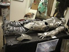 Captain America Prop Auction - Iron Man 2 armor (Doug Kline) Tags: costumes movie display auction armor studios marvel captainamerica props calabasas autopsy c2e2 profilesinhistory ironman2