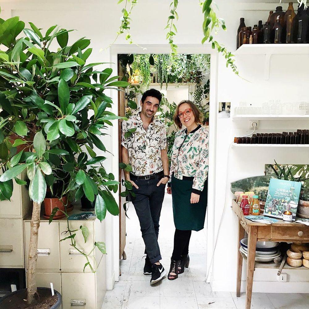 Urban Jungle Rug: Urban Jungle Book Launch In Paris