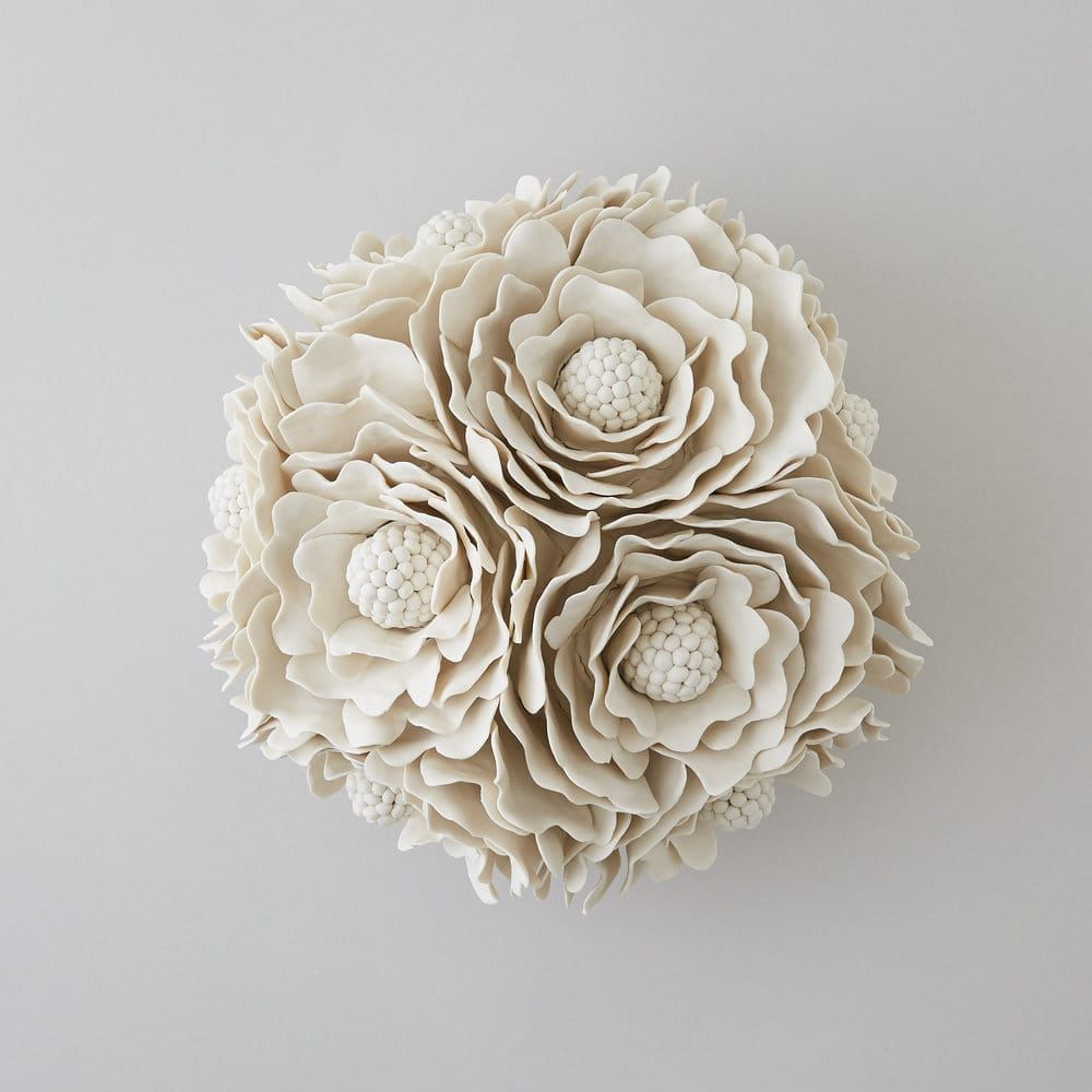 Fiori Di Ceramica.I Meravigliosi Fiori Di Ceramica Di Vanessa Hogge Art