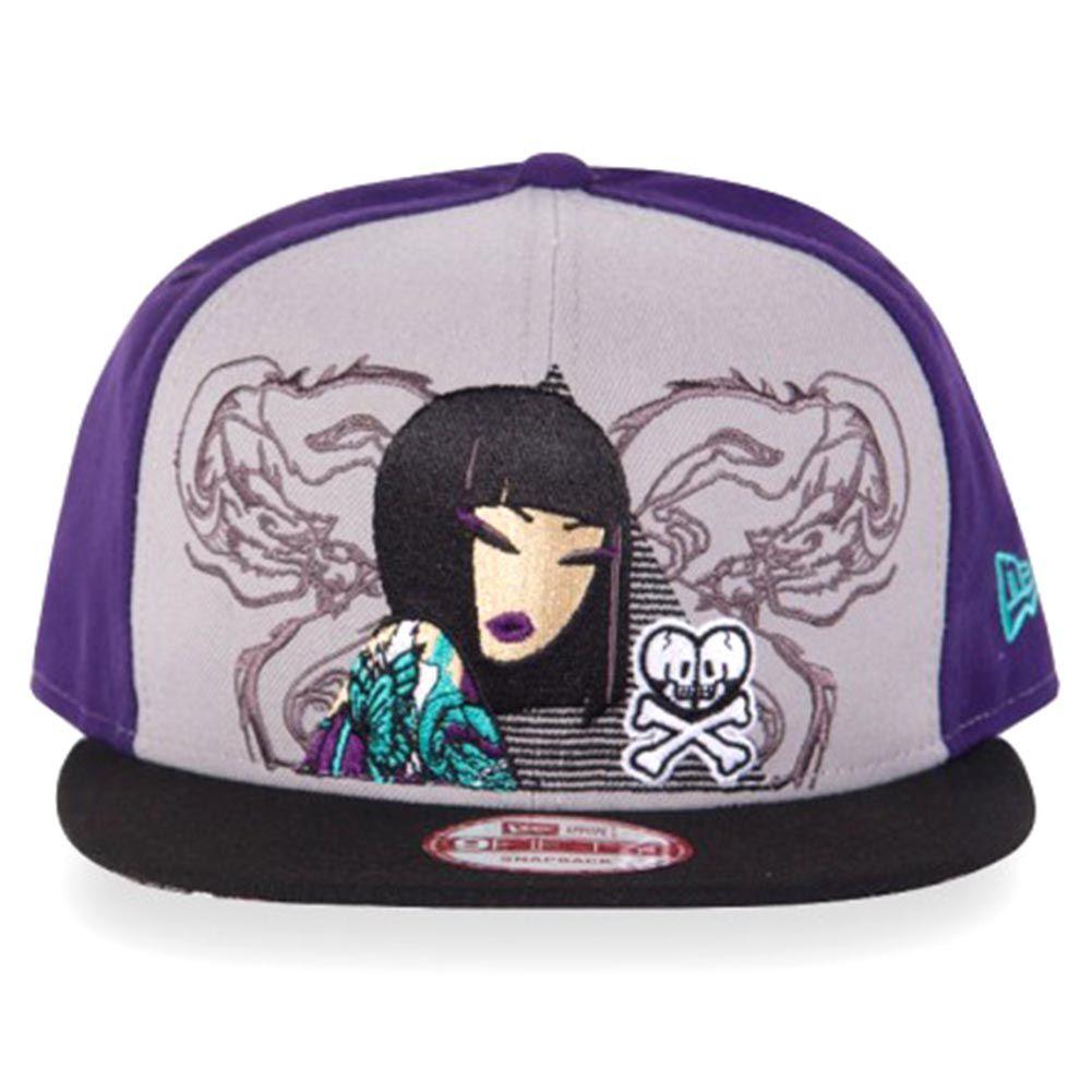 22d7c749fc1b Tokidoki Triangulate Snapback Hat in Purple