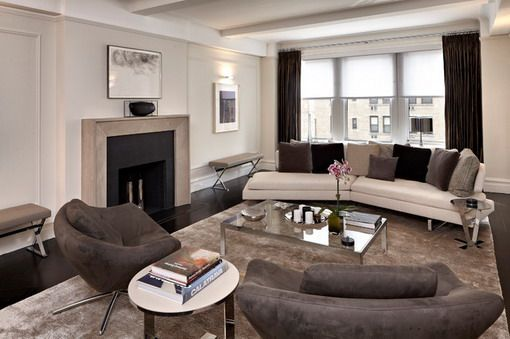 Warm-Grey-Sofa-in-Contemporary-Lounge.jpg | A room that no one uses ...