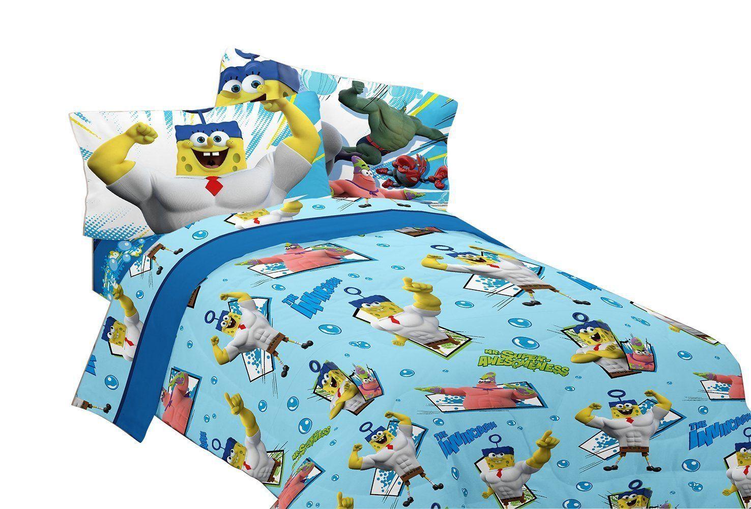 Spongebob Sponge Out of Water Sheet Set (Twin) (With