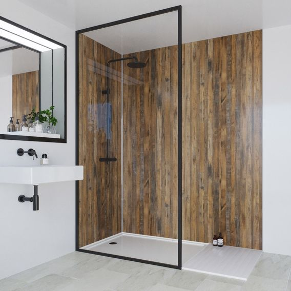 linda barker wall panel salvaged plank elm hydrolock on shower wall panels id=57891