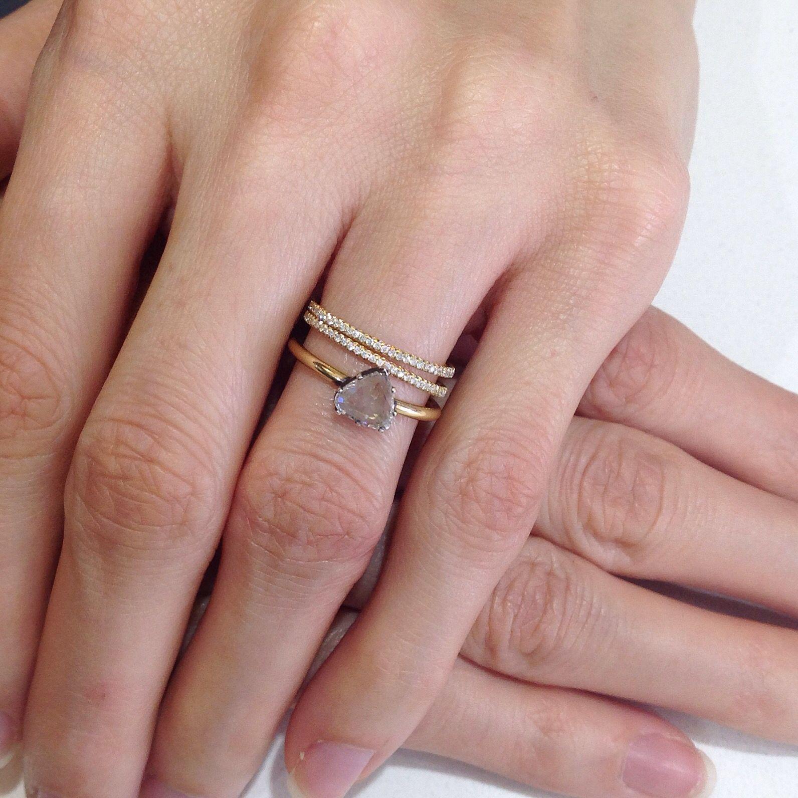 Pin by madi lake on chic diamond engagement ring | Pinterest ...