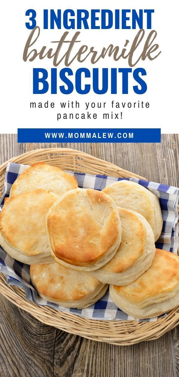 3 Ingredient Buttermilk Biscuits In 2020 Buttermilk Recipes Biscuit Recipe Buttermilk Biscuits Recipe