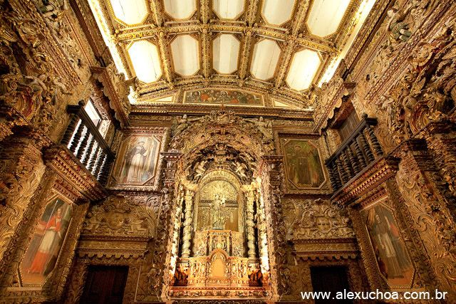 Azulejos Antigos Na Igreja De Sao Francisco E No Convento De Santo