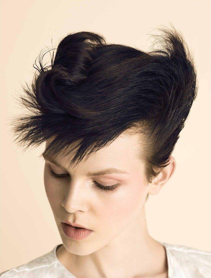 Pin By Juliette Simon On Pricheski Punk Hair Aesthetic Hair Editorial Hair