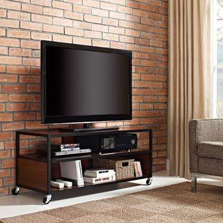 Mason Ridge Mobile Tv Stand Overstock Com Shopping