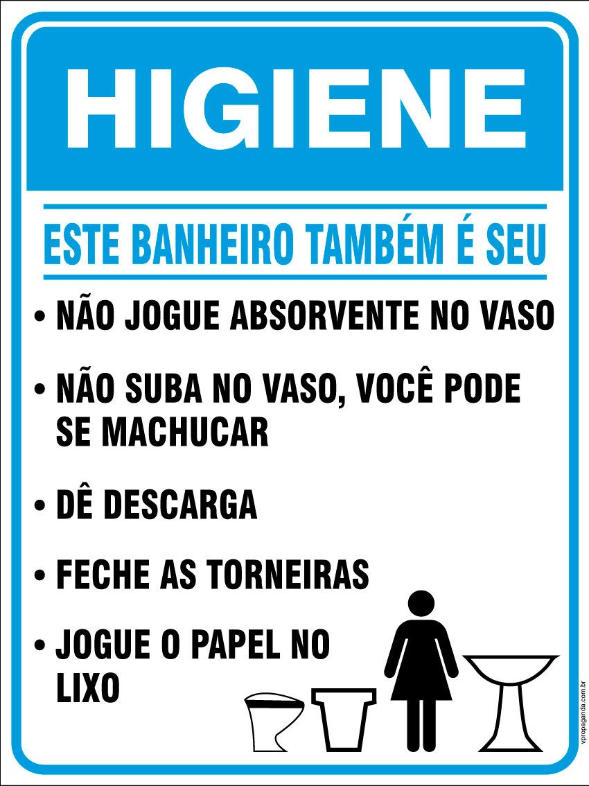 Placas E Avisos Para Banheiro Avisos De Banheiro Placas Para
