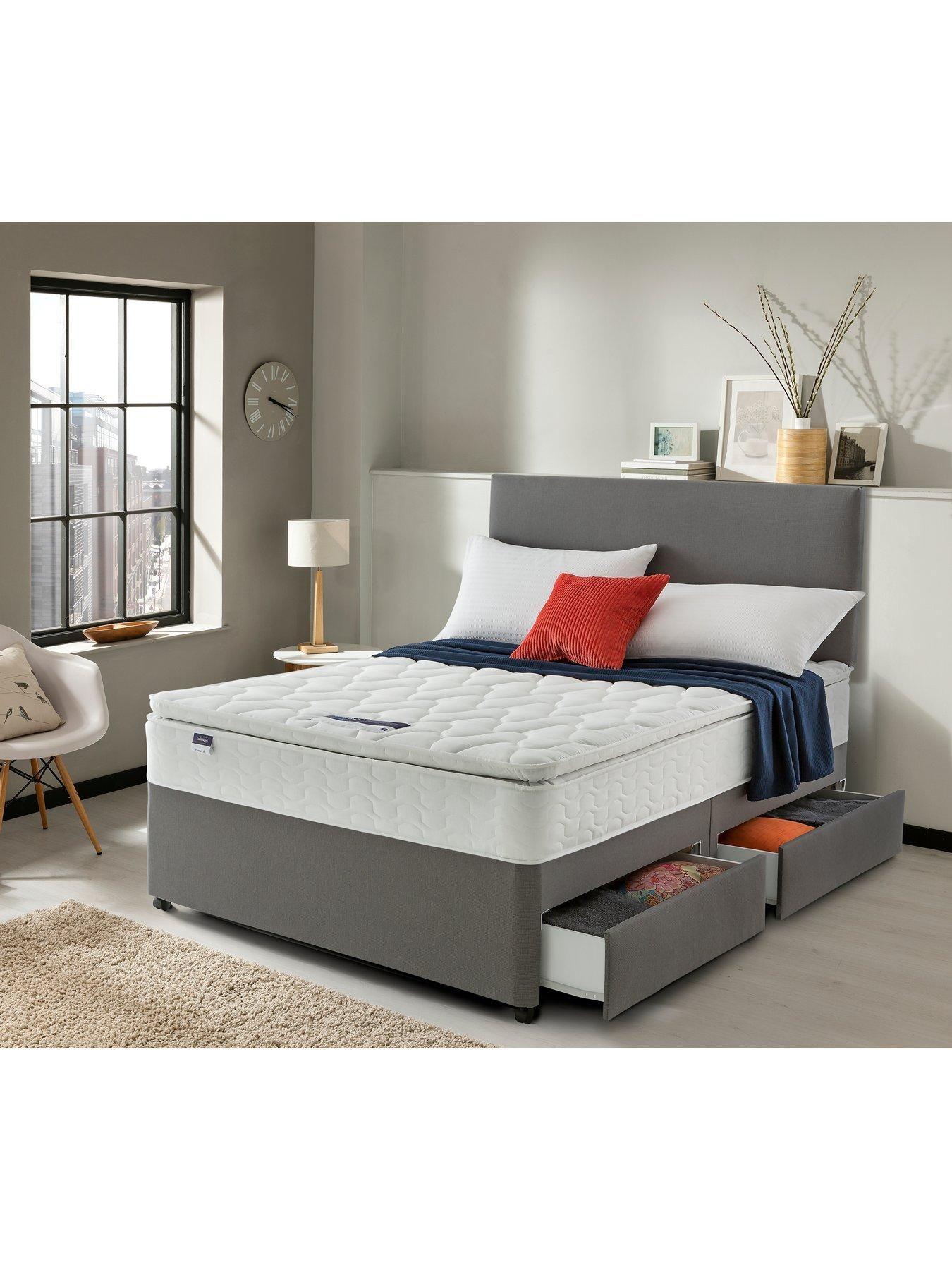 Silentnight Miracoil 3 Pippa Ultimate Pillowtop Divan Bed