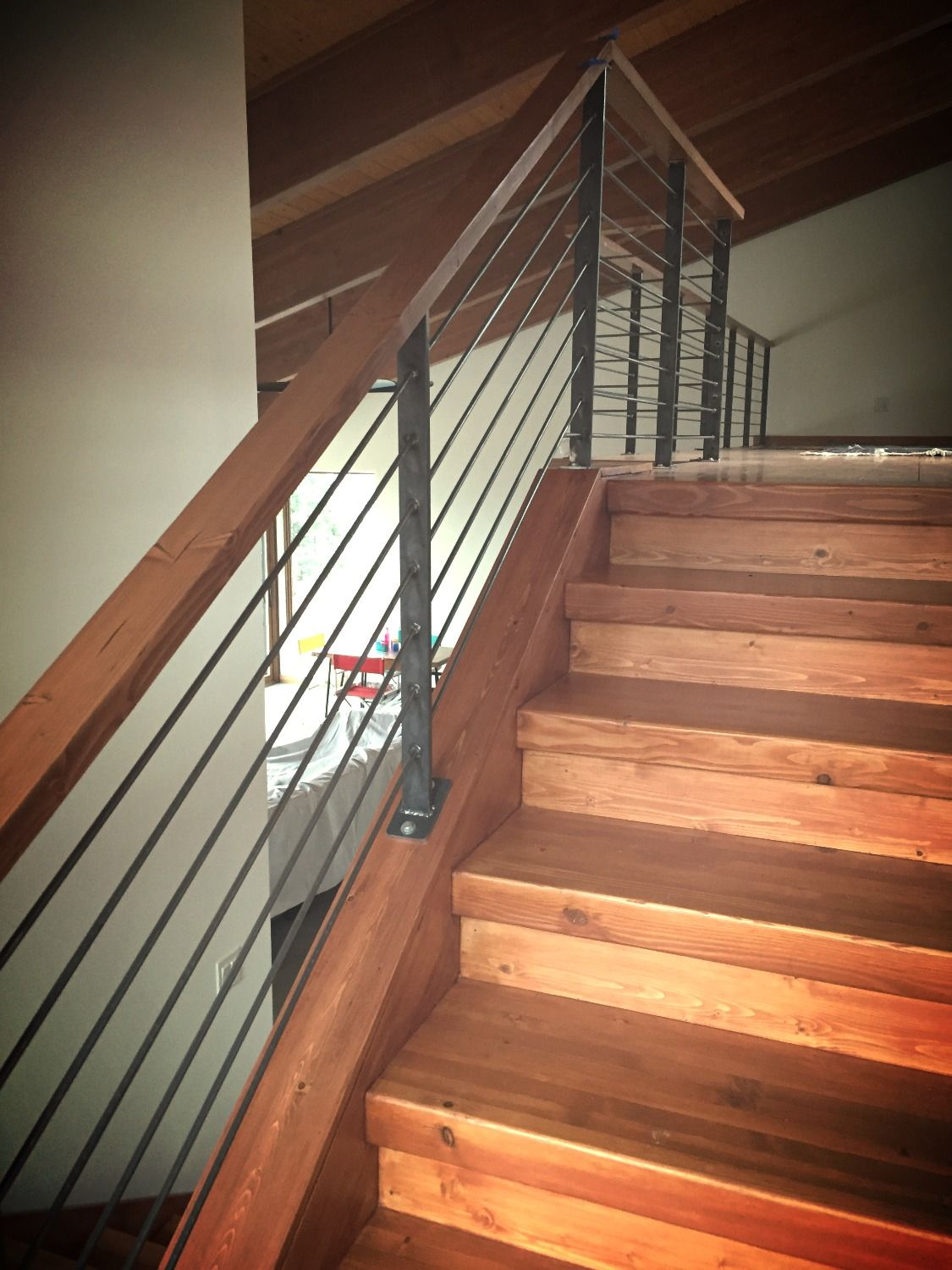 Best Custom Handrail Affordable Alternative To Expensive Cable 400 x 300