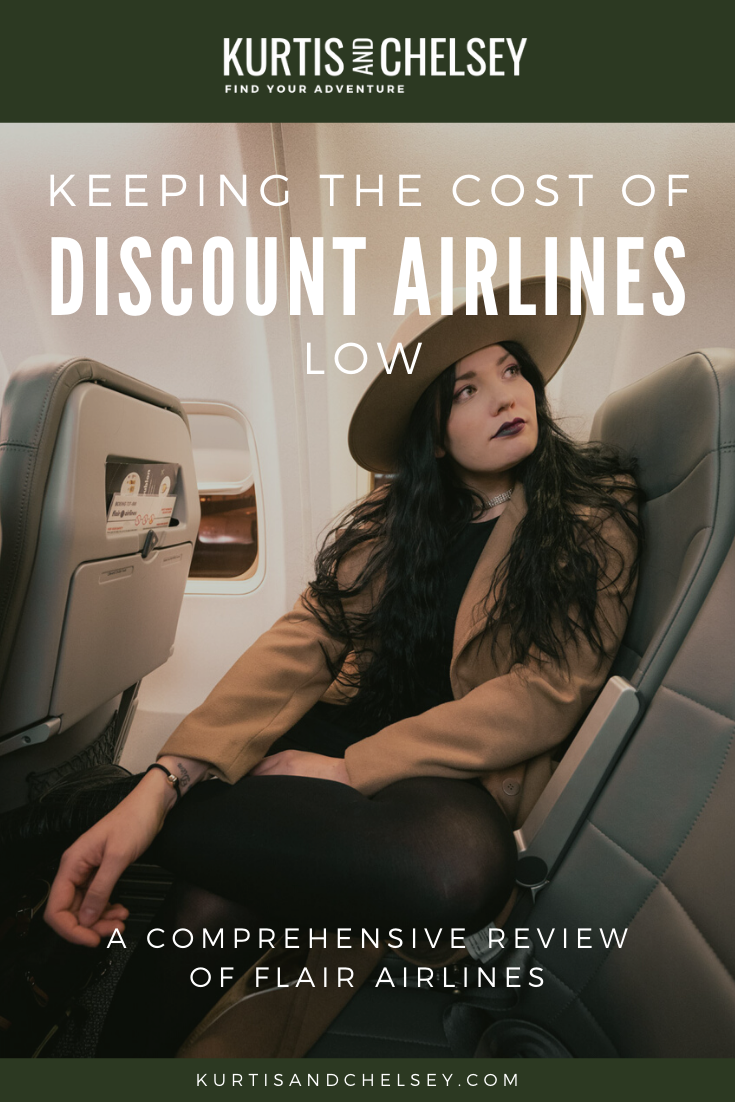 Canada's worst or best discount airline? Tips for keeping discount airfare low.   #discountairfare #flair #flairairlines #cheapflights #review