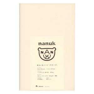 If you are in or have friends in Japan, hunt down the Nanuk sketchbooks. The page is a soft cream color, with thread binding and absolutely no branding or logos anywhere. Unlike most sketchbooks (even those from Muji) these are nice and tall which is ideal for note taking and designing for web and mobile apps.