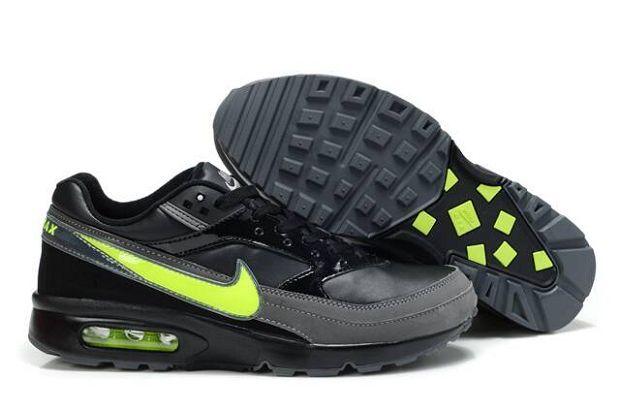 Nike Air Max Classic BW - Mens Black/Dark Grey-Volt Hot Sale