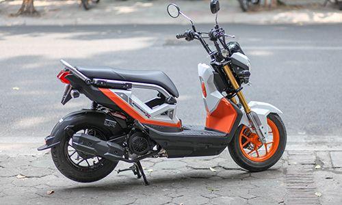 Xe Máy đẹp Honda Zoomer X 2017 Chính Thức Ra Mắt Thị Trường Việt Nam