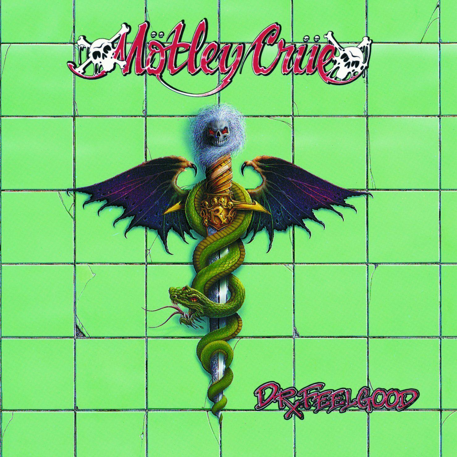 Motley Crue Dr. Feelgood Rock album covers, Motley