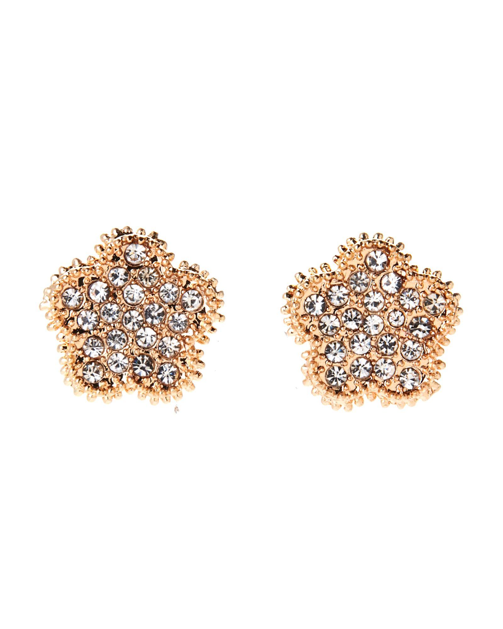 Jardin Clover Stud Earrings