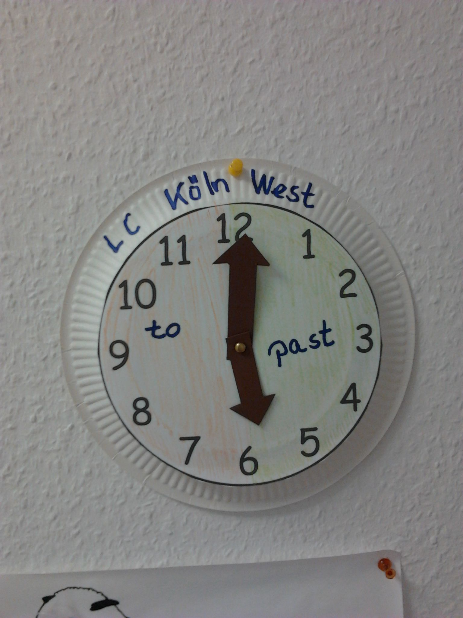 What S The Time Mr Wolf Nice Craft To Teach Telling The