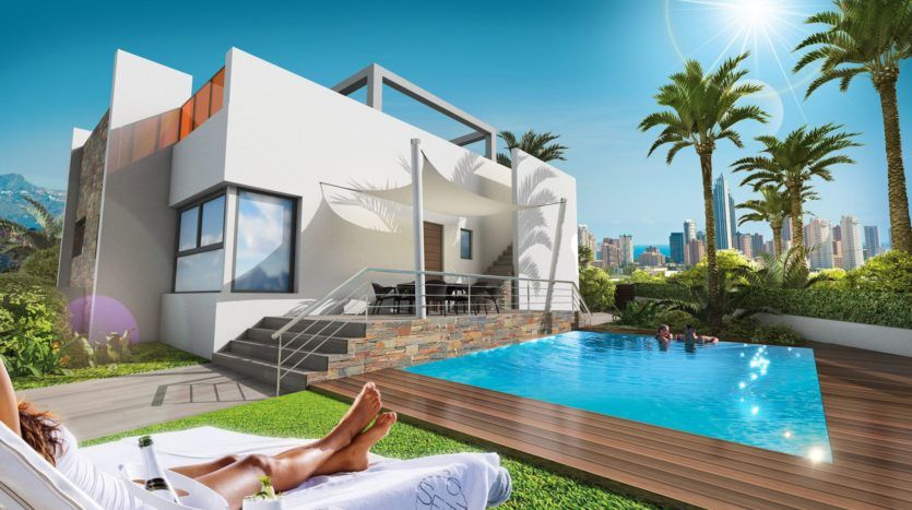 Or Rent Luxurious Villas Bungalows Apartments Duplexes For In Benidorm Spain At Spinrest Call 34 666 45 75 25