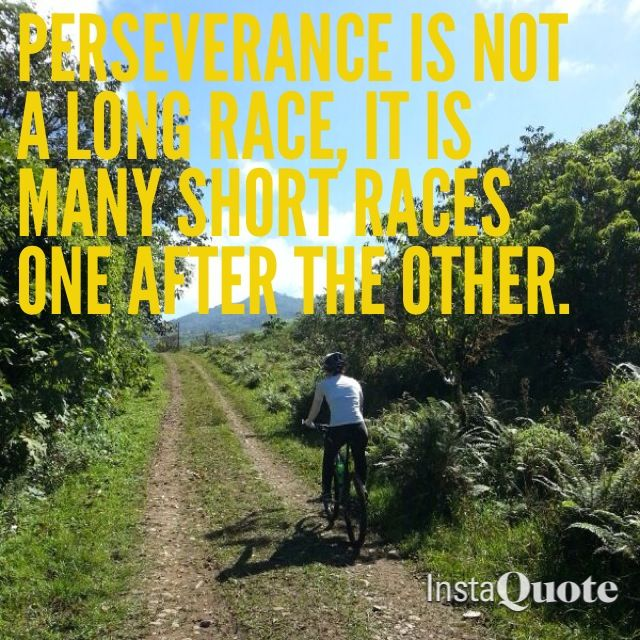 It S Not Always About The Long Race It S The Many Short Races