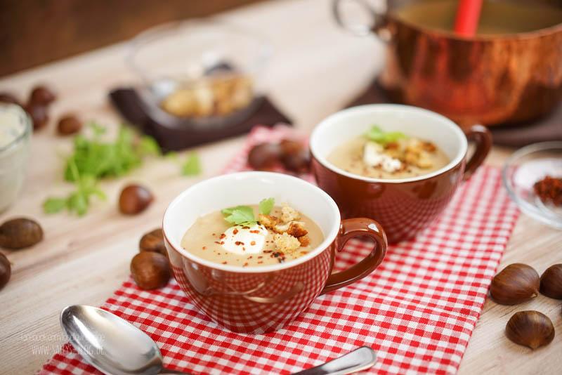 Maronensuppe / Vorspeise Weihnachtsmenü