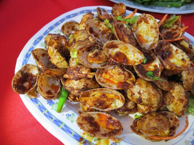 Anjung Senibong Malay Sea Food At Kampung Senibong Permas Jaya Johor Bahru Malaysia Food Seafood Vegetables