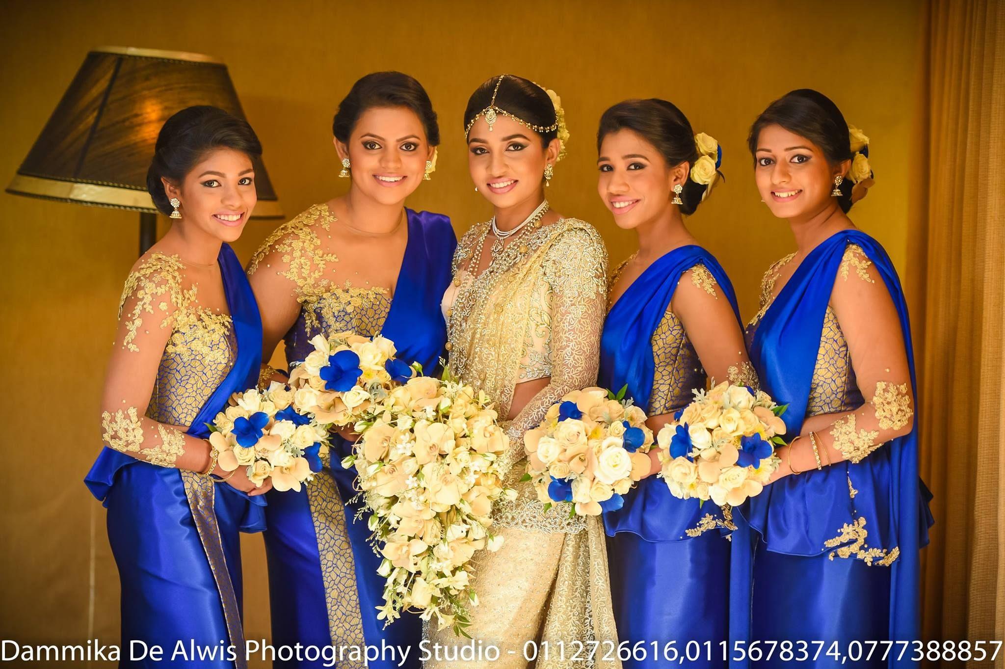 Sri Lankan Wedding Bridesmaid saree, Indian wedding
