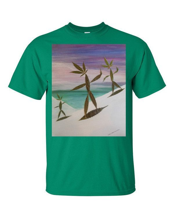 Short sleeve t-shirt SNOWBOARDERZ By LEAFY Z great gift idea for the snowboarder in your life