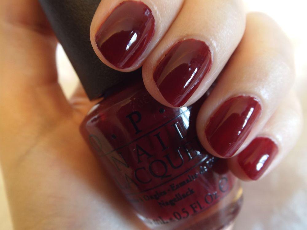 OPI-Malaga wine. Great color polish for fall/winter. | Nail Art ...