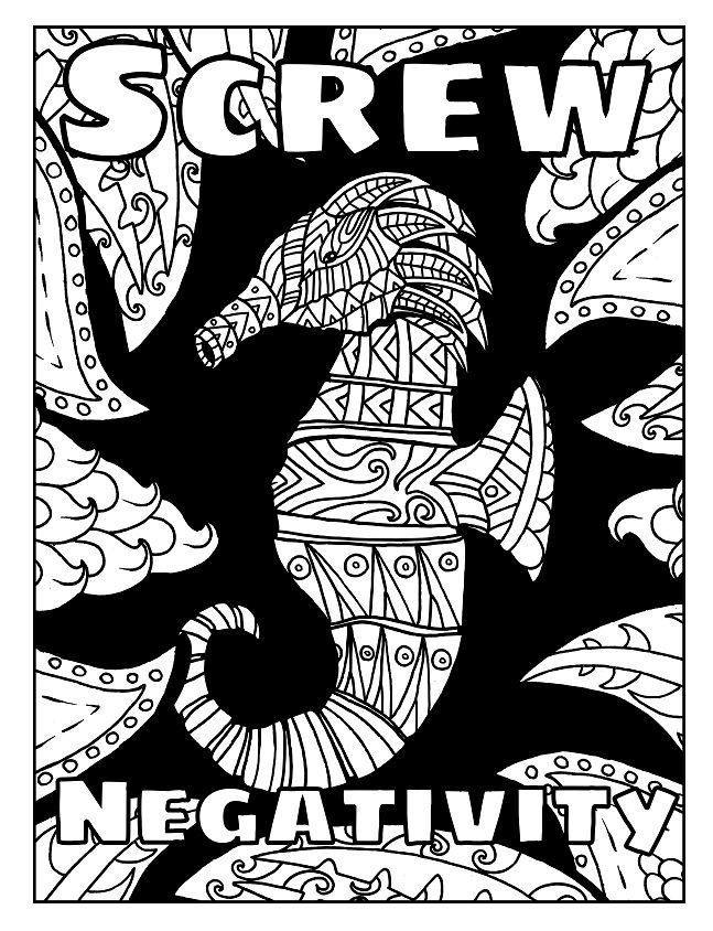 3 Free Swear Word Coloring Pages. Check out these swear ...