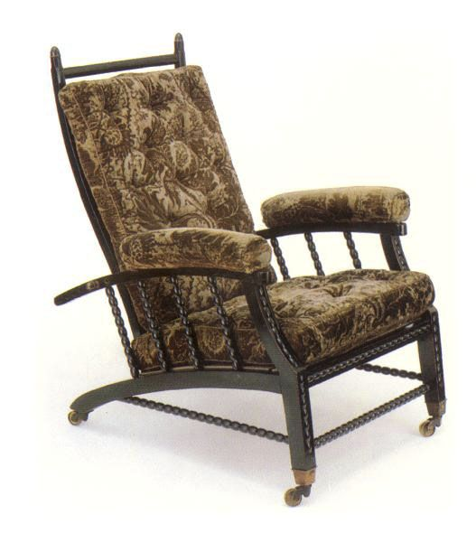 Morris Chair An Adjustable Back Chair Designed By Philip Webb - William morris chairs