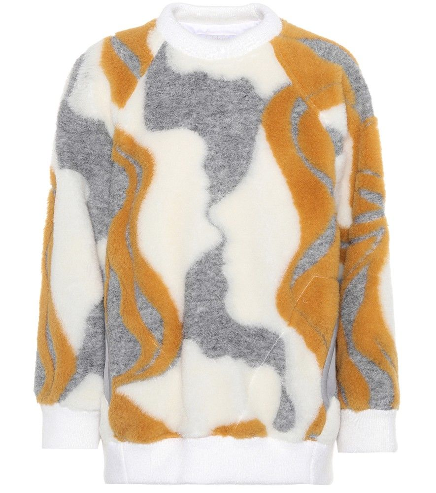 Chloé - Oversized wool-blend sweater - Chloé's oversized sweater ...