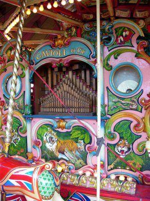 carters steam fair   organ