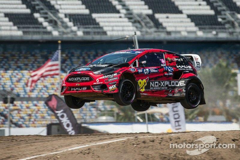 #07 SH Racing Rallycross Ford Fiesta ST: Nelson Piquet Jr. at GRC: Daytona