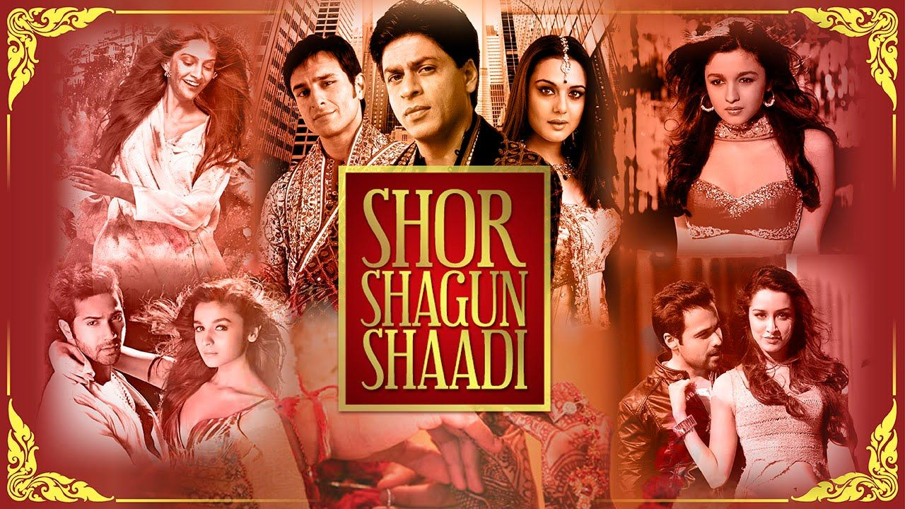 Shor Shagun Shaadi The Ultimate Bollywood Wedding Mix Best Wedding S Best Wedding Songs Wedding Songs Wedding Ceremony Songs