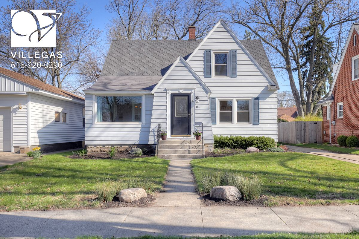Just Listed another awesome Holland property!  81 W 21st St, Holland MI. 49423  ** Open House Saturday 4/22 1-3PM! ** Holland Real Estate. Welcome to 81 W 21st Street! In great location on quiet street, this 3 bed, 1.5 bath Cape Cod is close to Holland High School, New Holland Brewery / 8th St entertainment, & Lakeshore. Offering 1,486 sqft, the main floor hosts a living room & dining room w beautiful wood floors, French doors to a private front office, a bedroom, full bath & galley kitchen…
