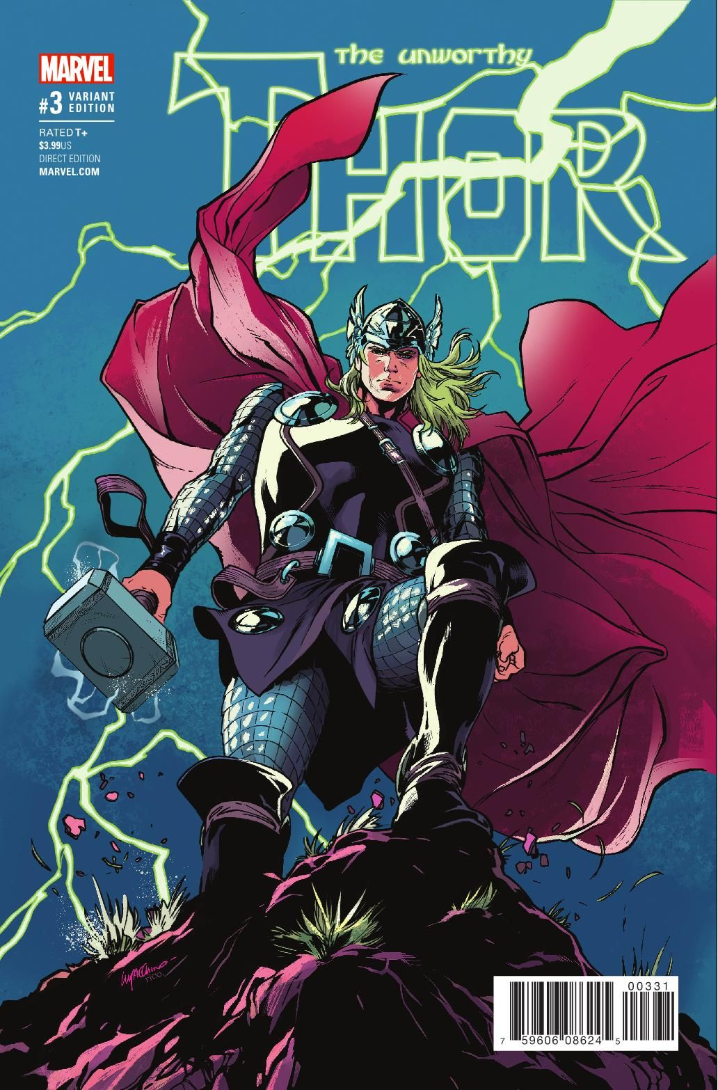 Preview The Unworthy Thor 3, Story Jason Aaron Art R.B