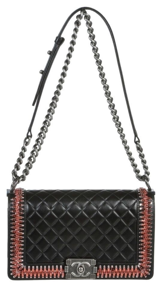 934eb5c2f48 Get one of the hottest styles of the season! The Chanel Rhinestone  Embellished Boy Shoulder Bag is a top 10 member favorite on Tradesy.