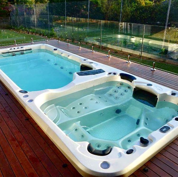 Installing A Swim Spa Or A Jacuzzi Did You Know That Your Electrical Will Need To Be Upgraded To Handle The Different Voltag Zwembad Spa Zwembaden Huis Ideeen