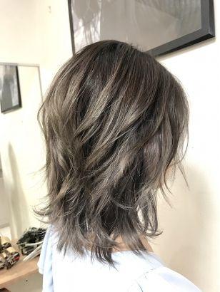 2019年春 ミディアム ウルフの髪型 ヘアアレンジ 人気順 7ページ目 ホットペッパービューティー ヘアスタイル ヘアカタログ ミディアムシャグ ヘアカット ヘアカット 髪型
