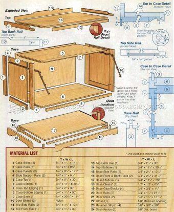 1021 Barrister Bookcase Plans Furniture Plans Bookcase Plans Barrister Bookcase Woodworking Plans Beginner