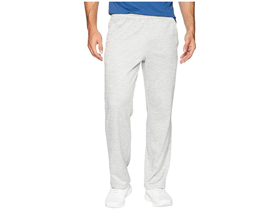 adidas Team Issue Fleece Open Hem Pants Grey Two MetallicHiRes Aqua Metallic Mens Casual Pants Dont join the team lead it with the adidas Team Issue Fleece Pants Regular...