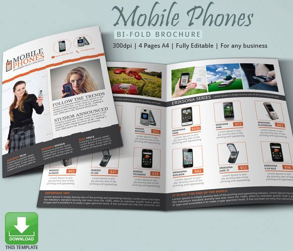 fashion-related-brochure-template-eps | 25+ Fashion Brochure ...