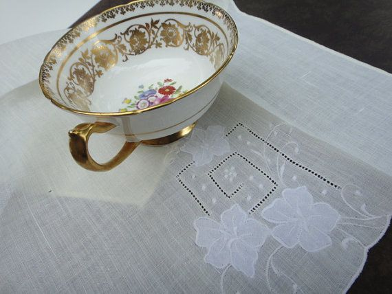 Cotone strofinaccio ricamato Applique Whitework di AnnasDream
