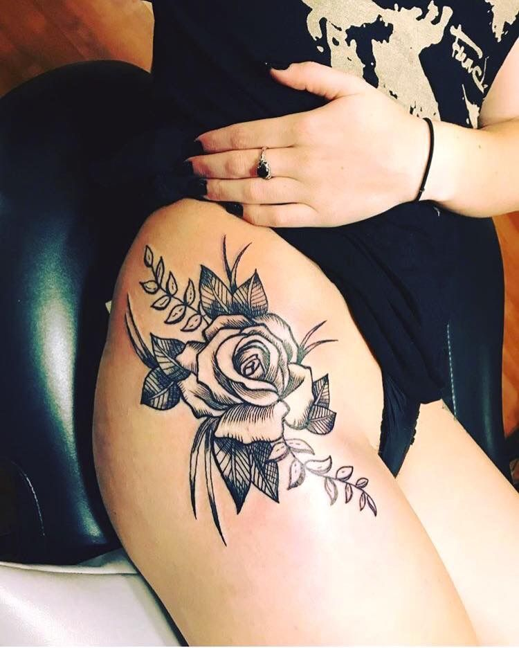 Pin By Gisele Acuna On Tattoo Ideas Hip Thigh Tattoos Thigh Tattoos Women Hip Tattoo