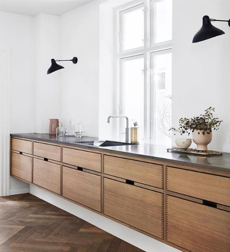 cabinetry is very cool and unique. I like that the toe kick …