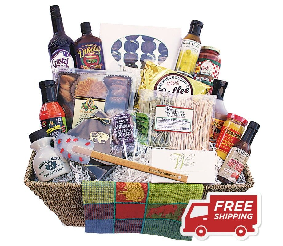 The Ultimate Buffalo New York Gift Basket Includes The